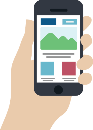 Mobile Website Graphic